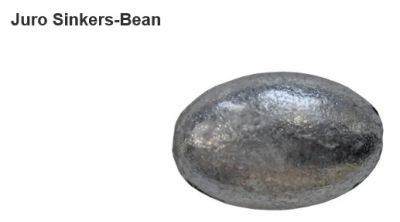 JURO Classic Bean Sinkers - Various Sizes