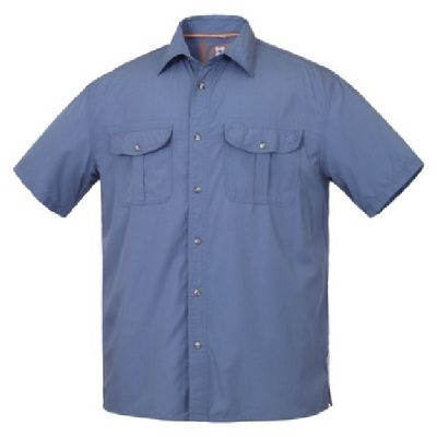 GONDWANA Brumby Shirt Mens Blue Shadow