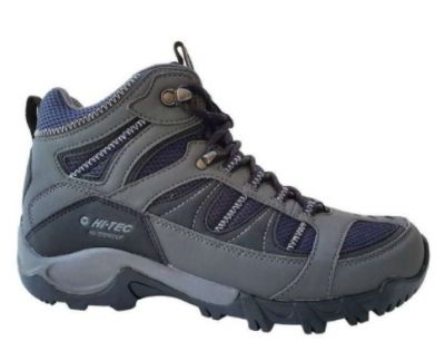 HITEC Mens Bryce II Waterproof Hiking Boot Charcoal/Navy/Black