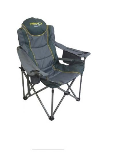 OUTDOOR CONNECTION Burly Lumbar Chair 160kg - Grey