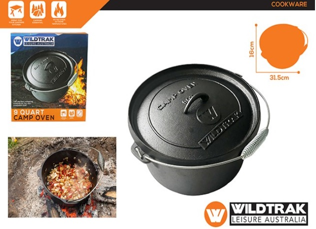 WILDTRAK Camp Oven 9QT