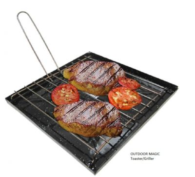 OUTDOOR MAGIC Camping Grill or Toaster