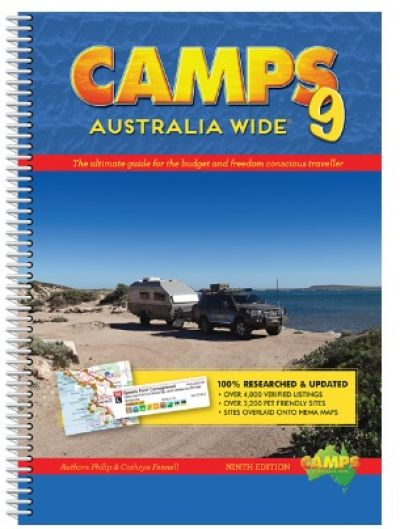 Camps 9 Australia Wide  Spiral Bound