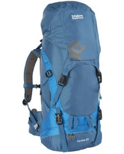 EPE Carina 65 Litre Hiking Pack in Blue or Black
