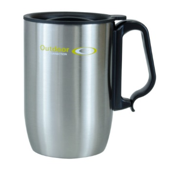 OUTDOOR CONNECTIONS Stainless Steel Double Wall Coffee Mug 350ml