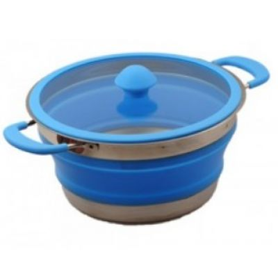 Collapsible Silicone Pot Medium 2.5 litres