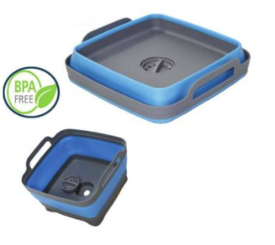 Collapsible Sink with removable sink plug