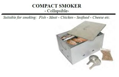 OUTDOOR MAGIC Compact Collapsible Smoker