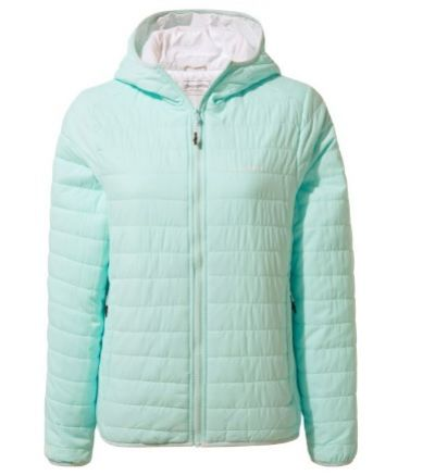CRAGHOPPERS Compresslite III Womens Hooded Jacket - Capri Blue