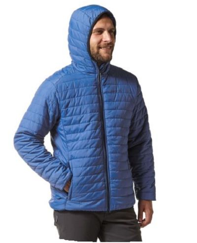 CRAGHOPPERS Compresslite III Mens Hooded Jacket - Delft Blue