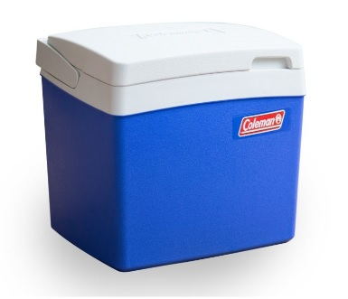 COLEMAN 27 litre Classic Cooler in Blue