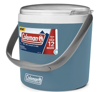 COLEMAN Party Circle Cooler in Blue