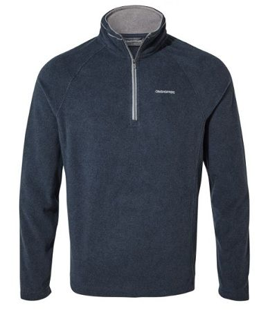 CRAGHOPPERS Corey Mens  Half Zip - Blue Navy