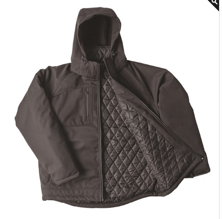 BRAHMA Cradle Mountain Padded Soft Shell Jacket - Black