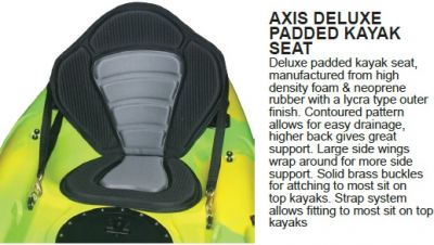 AXIS Deluxe Kayak Backrest and Seat