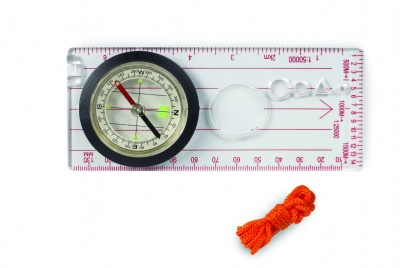 Deluxe Map Compass Transparent Base Plate 14x6cm