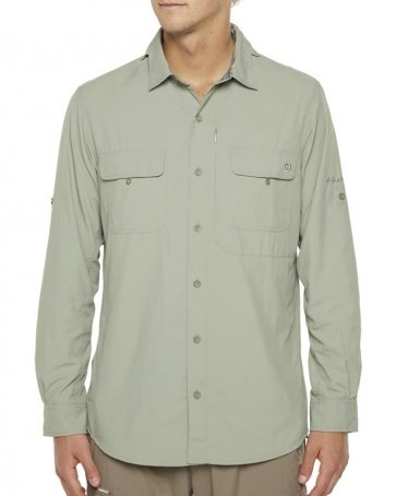 VIGILANTE Dilkon Long Sleeve Shirt Seagrass