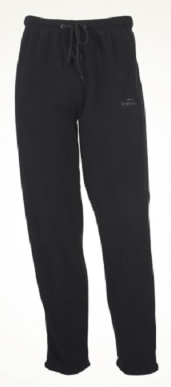 SHERPA Mens Midweight Fleece Pants Black