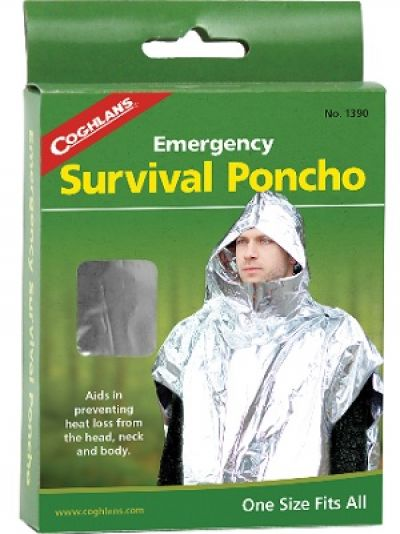 COGHLANS Emergency Survival Poncho