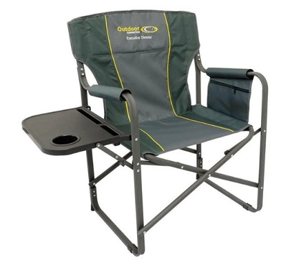 OUTDOOR CONNECTIONS Executive Directors Chair 140kg Capacity