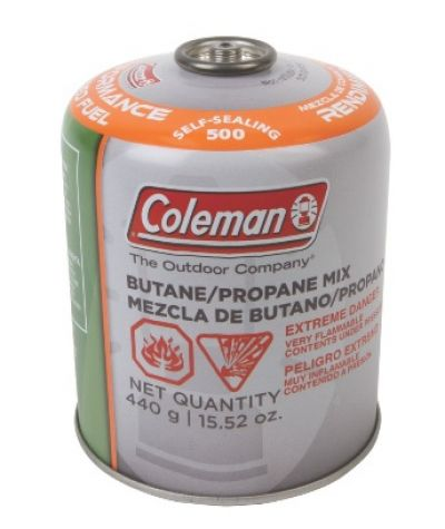 COLEMAN Gas Butane/Propane Cartridge Self Sealing 4400g