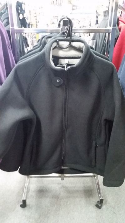 GUM AUSTRALIA Fleece Womens Jacket Black