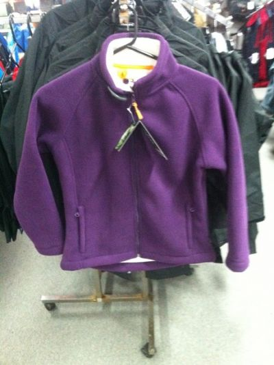 GUM AUSTRALIA Fleece Womens Jacket Purple