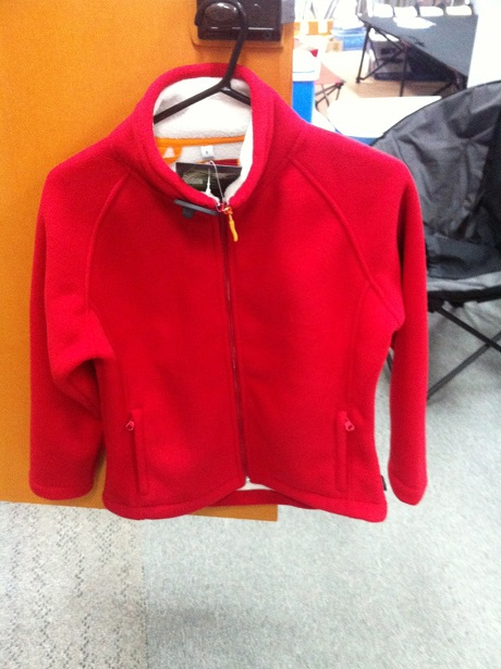 GUM AUSTRALIA Fleece Womens Jacket Red