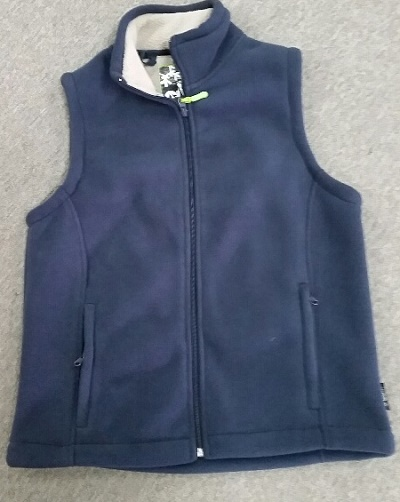 GUM AUSTRALIA Mens Vest in Navy