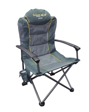 OUTDOOR CONNECTIONS Hastings Chair - Grey