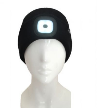 XTM Blinder Beanie with rechargeable LED