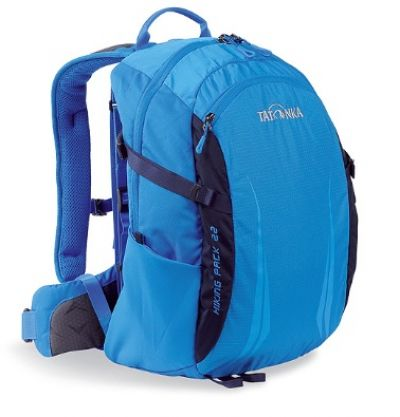 TATONKA Hiking 22 litre Day Pack in Bright Blue with X vent