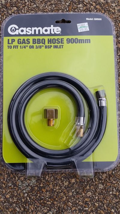 GASMATE LP Gas BBQ Hose 1500mm