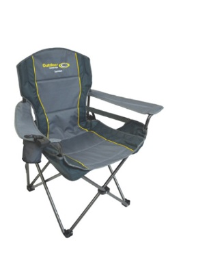 OUTDOOR CONNECTION  Lumbar Chair Grey Colour 130KG