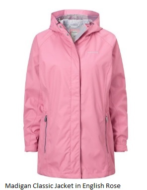 CRAGHOPPERS Ladies Madigan Classic in English Rose