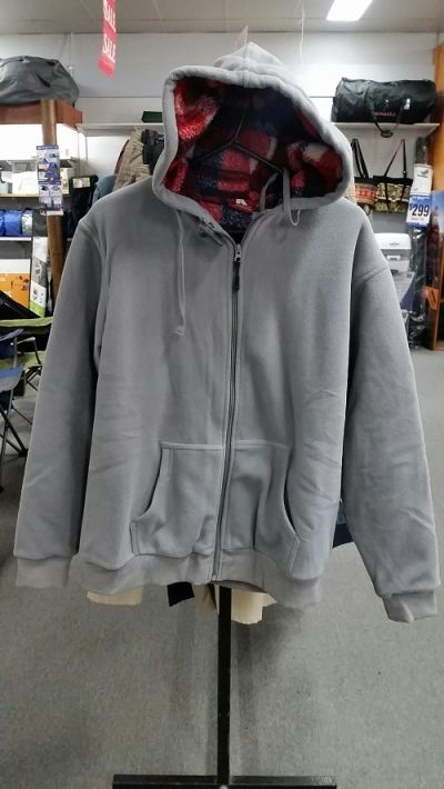 ADVENTURELINE Mens Hunter Hoodie in Charcoal colour