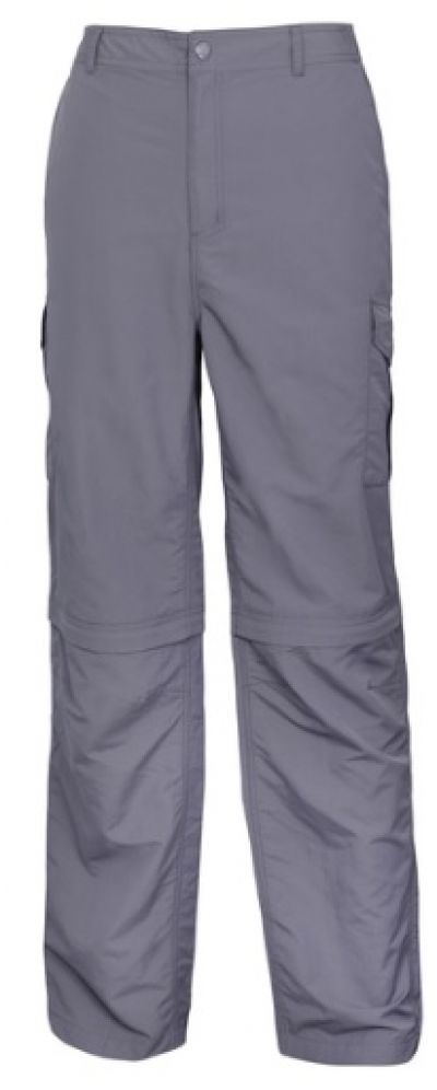 ADVENTURELINE Mens zip off pant charcoal
