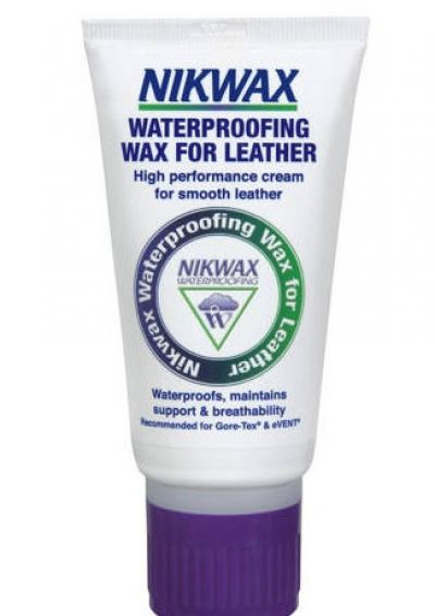 NIKWAX Cream Tube 100g Waterproofing Wax for Leather