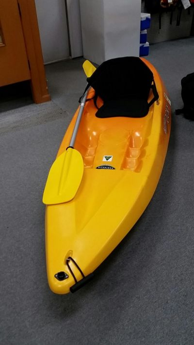 AUSTRALIS Ocky Sit On Top Kayak Yellow and Orange