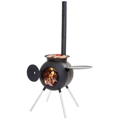 OZPIG Steel Body Cooker, BBQ, Stove and Heater