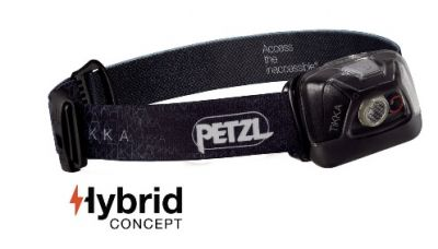 PETZL Tikka 200 lumens Head Torch Black