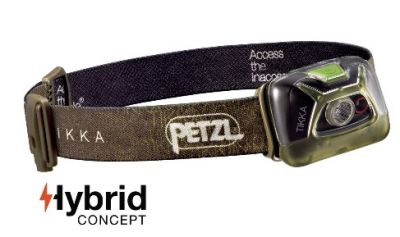 PETZL Tikka 200 lumens Head Torch Green