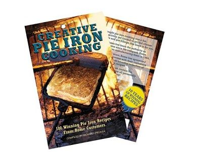 OZPIG Creative Pie Iron Cooking Book