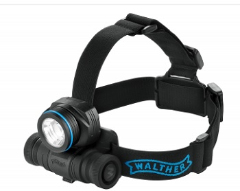 WALTHER Pro HL17 405 lumens Head Torch