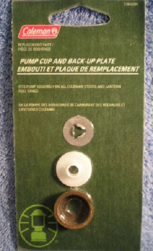 COLEMAN Pump Cub and Back-Up Plate