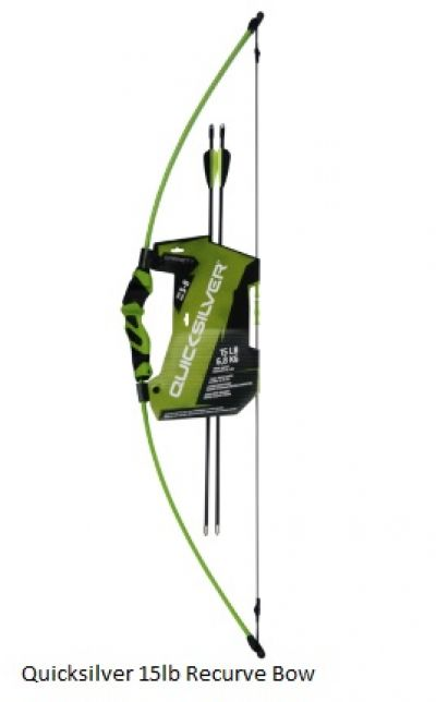 Quicksilver 15lb Junior Recurve Bow