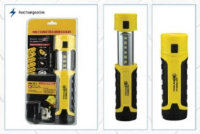 PERFECT IMAGE LED Rechargeable Multifunction Worklight and Torch