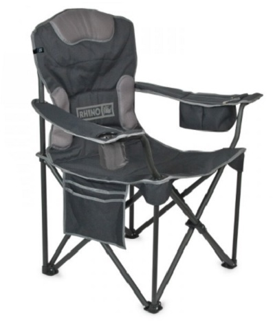 Rhino Quick Fold Chair with weight capacity 150kg