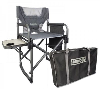 RHINO Quick Fold Directors Chair with bag