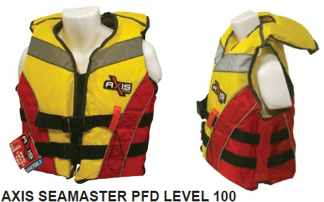 AXIS Seamaster Adult Small PFD Level 100